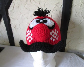Crochet Zebedee hat, prices differ, please see full listing for details