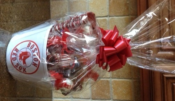 Boston Red Sox Or Any Sports Team Gift By EdibleGourmetGifts