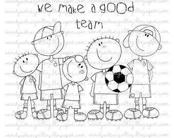 We Make A Good Team!
