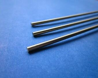 """3/32"""" (.09375) Brass Round Rod, 2.38mm"""