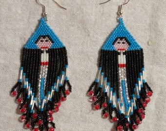 0166 Vampire Earrings