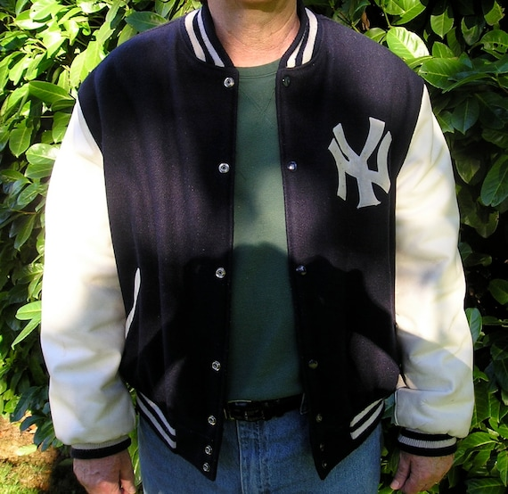 New york yankees leather jacket