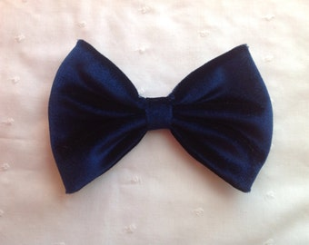 Large Velvet Hair Bow
