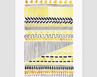 "artprint/print of the artwork ""folklore No.4"""