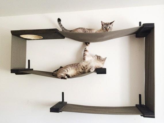 Large Cat Hammock Fabric Cat Maze Cat Hammock
