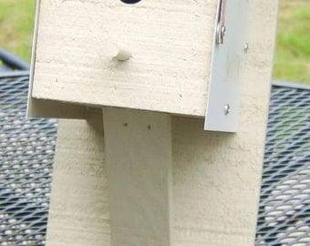 Amish Made Mailbox Wren Bird House
