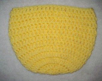 Baby Bowl/Egg Photo Prop In Lemon Yellow Style #2