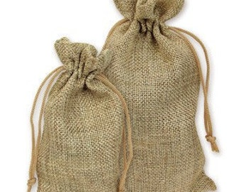 Special order for Katherine 24pack 4x6 burlap pouches