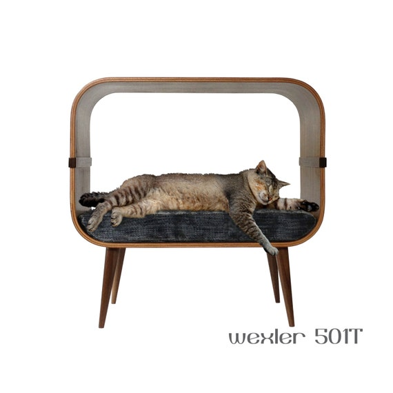 Items Similar To Mid Century Modern Cat Furniture On Etsy