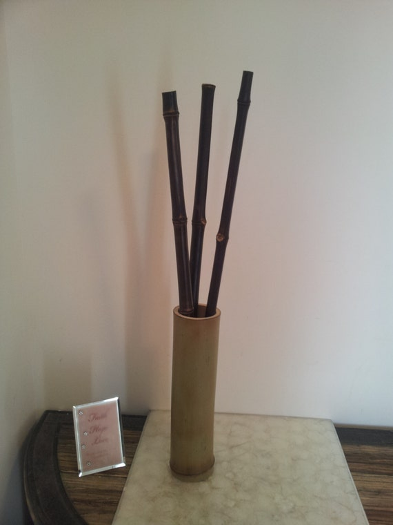 Large Vases With Bamboo Poles ~ Items similar to verde bamboo vase arrangement large