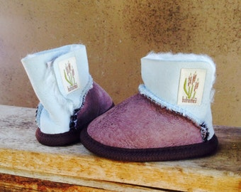 sheepskin booties on Etsy, a global handmade and vintage