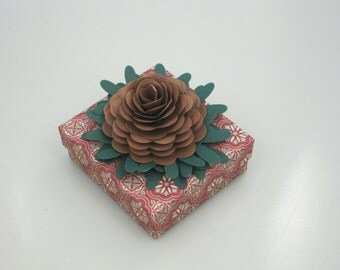 Hand-decorated Keepsake Box/Jewelry Gift Box