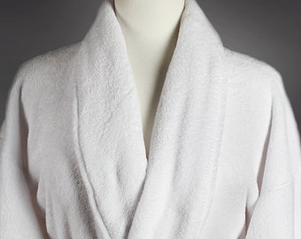 Customized Plush Spa Bridal Robe for Weddings-Wrapped In A Cloud