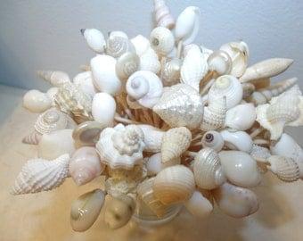 Wedding Toothpicks Beach Theme White Light Seashells Picks Sea Shell Shower Summer Party Planning Summer Luau Skewers Appetizers Christmas