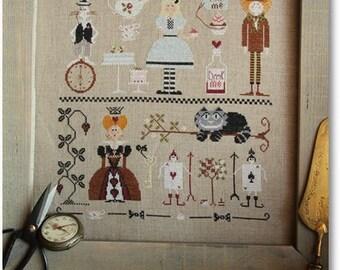 Cross Stitch Pattern: Alice nel Paese delle Meraviglie