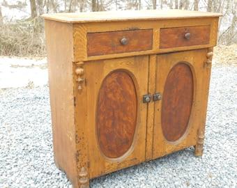 Vintage Wood Jelly Cupboard