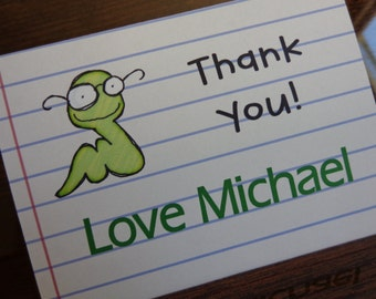 Kids thank you cards. Set of 5. Perfect for kids to get started sending a thank you :)