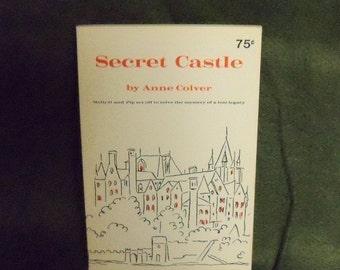 Vintage 1969 Secret Castle Anne Colver Book