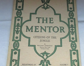 The Mentor Citizens of the Jungle by William T. Hornaday 1919
