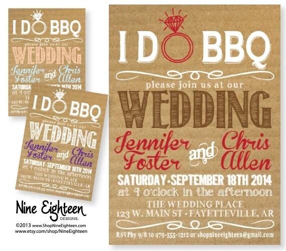barbecue wedding invitation wording. black hanging mason jars i do,