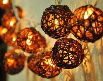Handmade indoor string lights Etsy