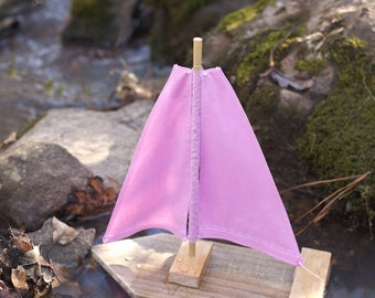 Toy/Photography Prop Sailboat- Pretty in Pink