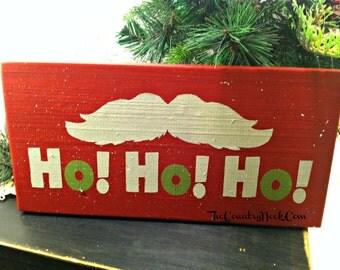 HO! HO! HO! Sign