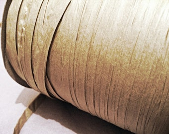 10m Kraft Brown Raffia Ribbon Rustic Wedding Vintage Christmas Gift Wrap Wrapping