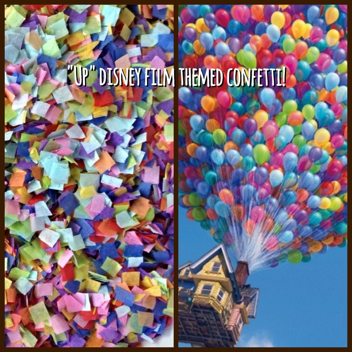 up Movie Centerpieces up Disney Movie Party Confetti
