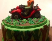 Atv Cake Topper