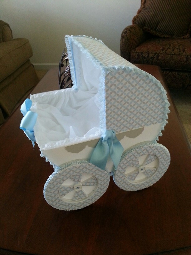 The tyler baby carriage centerpiece shower