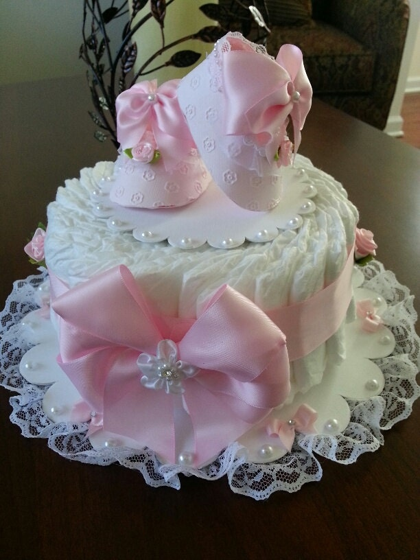 Diaper Cake / Baby Shower