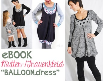 """eBOOK # 59 / mother dress """"BALLOON.dress"""" only in german language"""