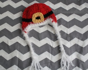 Santa Hat (available in sizes newborn to adult)