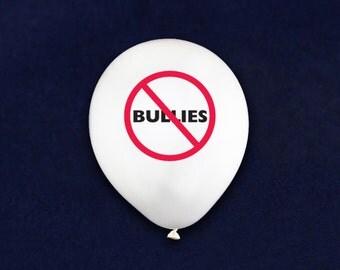 No Bullies Anti Bullying Balloons (50 Balloons) (BAL-BUR)
