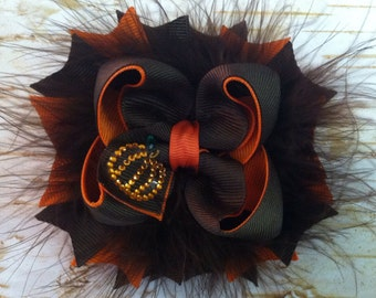 Pumpkin Boutique Hairbow
