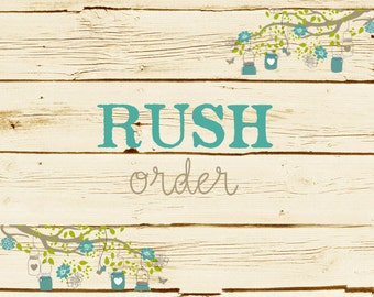 Rush Order - Ships in 2-3 days