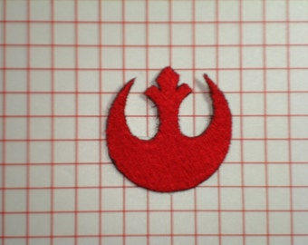 Star Wars Alliance Starbird Rebellion Insignia Embroidered Iron On Patch