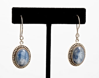 Kyanite 229 - Earrings - Sterling Silver & Kyanite