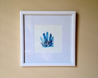 Smokey Blue Minerals Watercolor