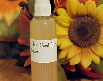 Sweet Curls Flax Seed Spray Elixir, 4 oz