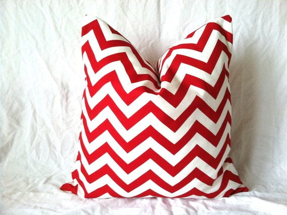 Red Pillow Cover 18