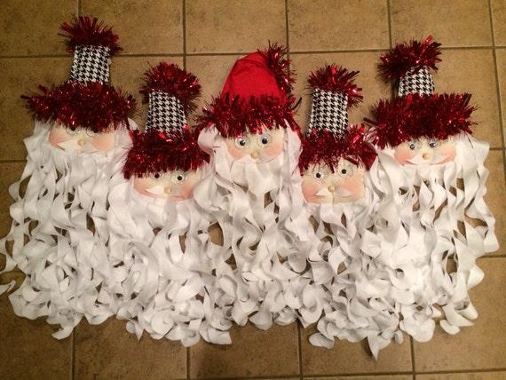 Santa door hangers