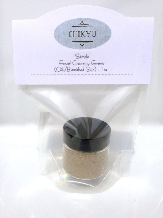 Facial Cleansing Grains - Neutralize (Oily/Blemished Skin) SAMPLE Size  1oz