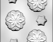 Asst Snowflakes Candy Molds Chocolate Candy Christmas treats Winter party favors baking supplies 90-4625