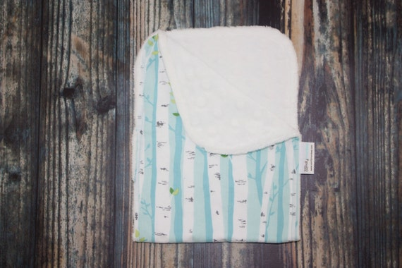 Birch forest cotton and minky burpee