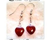 Dear Heart Beaded Earrings