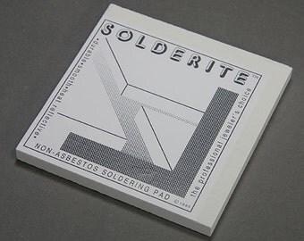 """Solderite Soldering Block 6"""" x 6"""" x 1/2""""  (54.210)"""