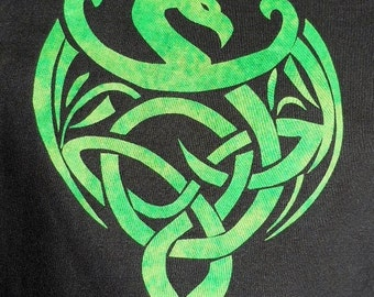 Easy Celtic Dragon Quilt Applique Pattern Design