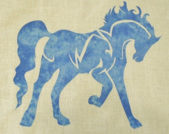 Easy Horse Quilt Applique Pattern Design